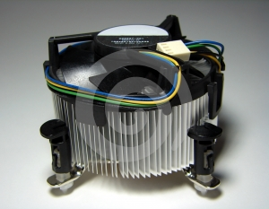 PC Cooling Fan Royalty Free Stock Images - Image: 597139