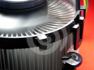 PC Cooling Fan In Action Stock Photography - Image: 597142