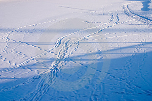 Traces And Shadows Stock Image - Image: 598481
