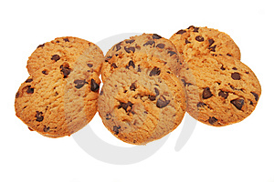 Chocolate Chip Cookies Royalty Free Stock Photo - Image: 5907785