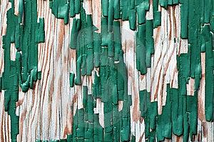 Small Area Of Peeling Paint On Wood Stock Photo - Image: 5912480