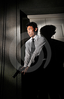 Agent/ Killer 1 Royalty Free Stock Photography - Image: 5912857