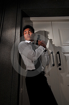 Agent/ Killer 4 Stock Photography - Image: 5913402