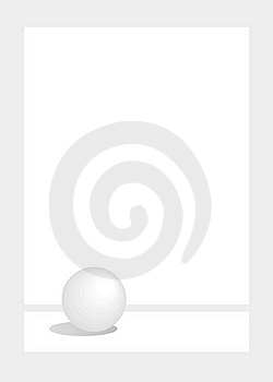 Grey Sphere Royalty Free Stock Images - Image: 5916319