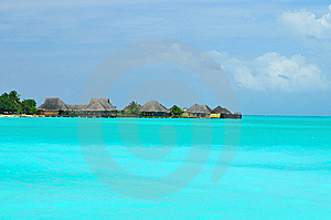 Maldives, Welcome To Paradise! Stock Photography - Image: 5922732