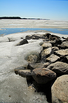 Frozen Lake Royalty Free Stock Photography - Image: 5923807