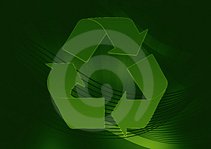 Greenish Recycle Stock Photography - Image: 5925942