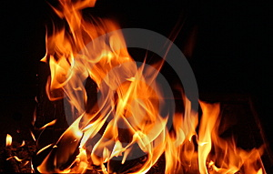 Flames Free Stock Photo