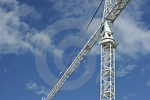 Lifting Crane Stock Photography - Image: 5930442