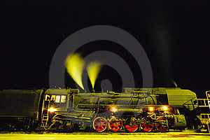 Steam Train Royalty Free Stock Images - Image: 5932169
