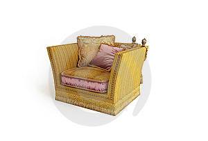 Classical Armchair Royalty Free Stock Photography - Image: 5936577