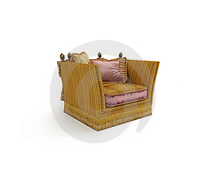 Classical Armchair Royalty Free Stock Images - Image: 5936819