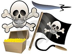 Piracy Set Stock Photo - Image: 5938120