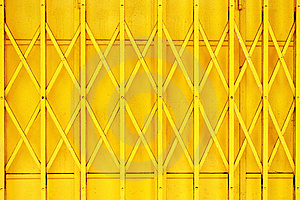 Yellow Grille Royalty Free Stock Photography - Image: 5939597