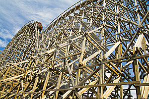Roller Coaster Royalty Free Stock Photo - Image: 5943575