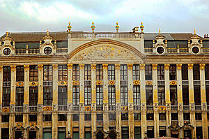 Brussels Grand Place Stock Photography - Image: 5943582