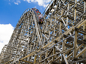 Roller Coaster Royalty Free Stock Images - Image: 5943659