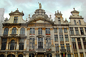 Brussels Grand Place Royalty Free Stock Photo - Image: 5943695