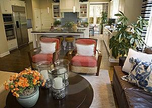 Luxurious living room.