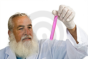 Scientist In Laboratory Royalty Free Stock Image - Image: 5952686
