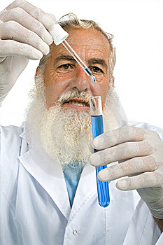 Scientist In Laboratory Stock Images - Image: 5952704