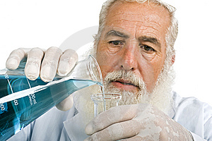 Scientist In Laboratory Royalty Free Stock Images - Image: 5952749