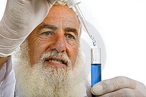 Scientist In Laboratory Royalty Free Stock Images - Image: 5952759