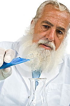 Scientist In Laboratory Stock Photo - Image: 5952820