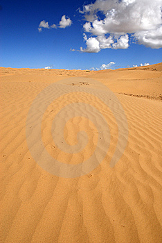 The Island Of Sand Royalty Free Stock Photo - Image: 5954285