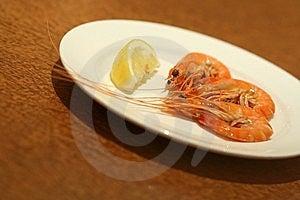 Fresh Cooked Prawns Stock Photography - Image: 5954622