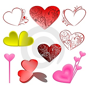 Set Vector Love Illustration Stock Photography - Image: 5956032