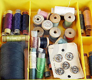 Set Of Threads Stock Images - Image: 5956914