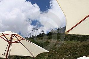 Elevador De Esqui No Verão Fotos de Stock Royalty Free - Imagem: 5961238