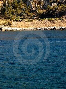 Gimpse Of Gulf Stock Image - Image: 5962811