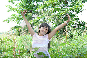 Girl In Nature Stock Photography - Image: 5962862