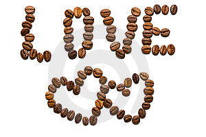 Love With Coffee Royalty Free Stock Photography - Image: 5964647