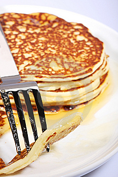 Fresh American Pancakes Royalty Free Stock Photo - Image: 5969595