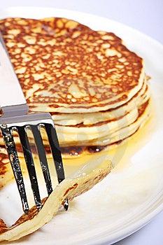 Fresh American Pancakes Royalty Free Stock Photo - Image: 5969595