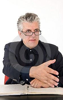 Man At Work Stock Image - Image: 5970371
