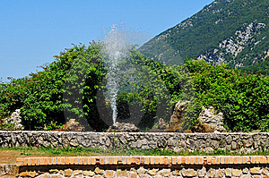 Abruzzo Fountain Royalty Free Stock Images - Image: 5973149