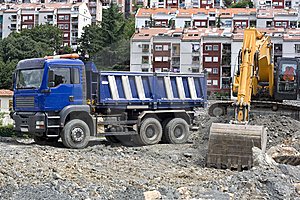 Construction Site Royalty Free Stock Photos - Image: 5973248