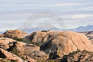 Mountains In Canyonlands National Park Royalty Free Stock Images - Image: 5974839
