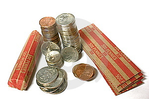Loose Change Stock Photo - Image: 5977190