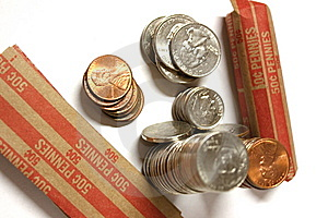 Loose Change Royalty Free Stock Image - Image: 5977246