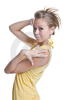Fashionable Hairdress Royalty Free Stock Photo - Image: 5978855
