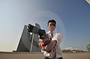 Agent/ Killer 33 Royalty Free Stock Photos - Image: 5978918