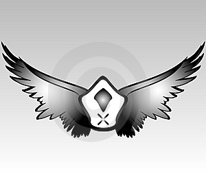 Pirate Wings Stock Photography - Image: 5980252