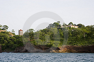 Pink Island Resorts Stock Photography - Image: 5982742