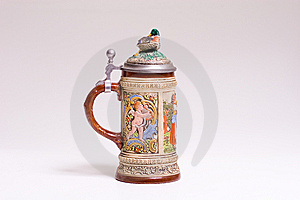 Austrian Beer Stein Royalty Free Stock Photos - Image: 5982808