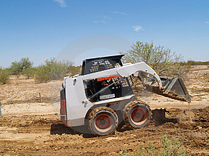 Skid Steer Loader - Horizontal Stock Photography - Image: 5985372